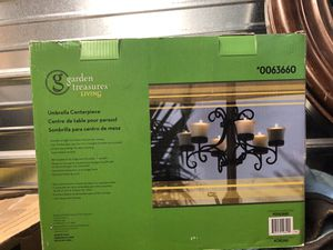 Patio Table Umbrella candle Holder New in Box for Sale in Puyallup, WA