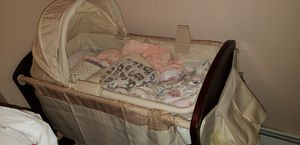 Bassinet/Changing Table w/ Storage for Sale in Newark, NJ
