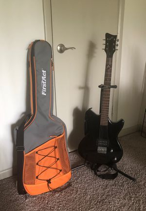 Guitar, Stand, and Case for Sale in Atlanta, GA