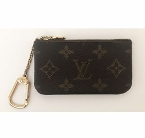 UNISEX Authentic Louis Vuitton Monogram Cles Coin Card Key Pouch for Sale in West Covina, CA