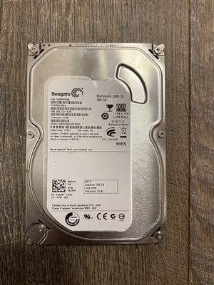 Seagate barracuda 250g for Sale in Jacksonville, TX