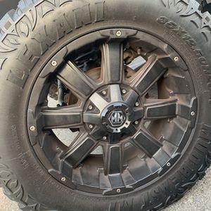 Mayhem Rims With Lexani Mud Tires for Sale in San Diego, CA
