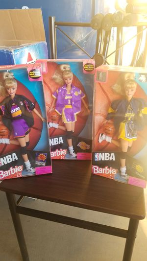 NBA Barbie Dolls for Sale in Las Vegas, NV