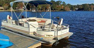 Electric Pontoon - Ray Outboard motor for Sale in Jonesboro, GA