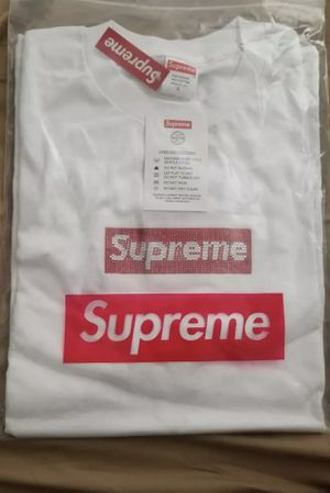 Supreme X Swarovski Tee Box Logo for Sale in Nashville, TN