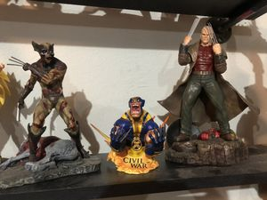 Wolverine figure/statue lot of 3 for Sale in Spring, TX