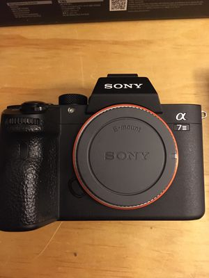 Sony A7iii Full Frame Mirrorless Camera A7 iii for Sale in Anaheim, CA