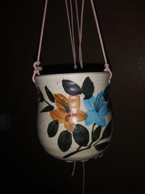 Hanging ceramic holder for Sale in Escondido, CA