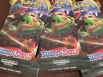 3 Packs Of Pokémon Cards Unopened for Sale in Pittsburgh,  PA
