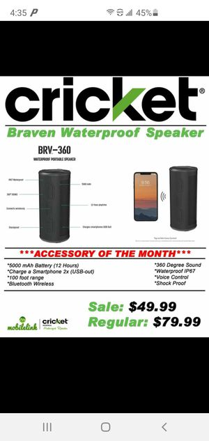 Braven Speaker for Sale in Quincy, IL