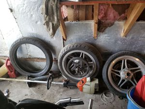 Motorcycle tire and rims for Sale in Murfreesboro, TN