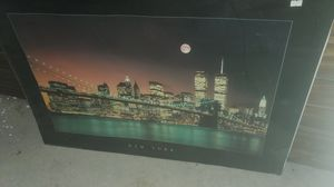 New York City poster. Pre 9/11 for Sale in Raleigh, NC