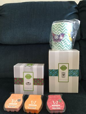 Scentsy Chevron and songbirds Warmer for Sale in Alameda, CA