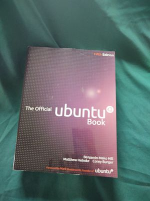 The Official Ubuntu Book for Sale in West Somerville, MA