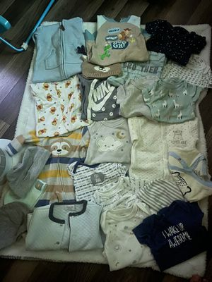 Baby clothes 0-3 for Sale in Las Vegas, NV