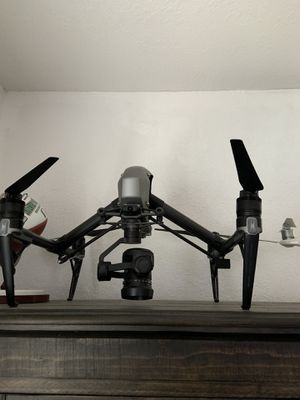 Dj drone inspire with carting case and zenmuse x5 s camera for Sale in Davie, FL