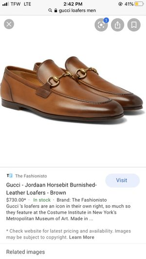 Gucci Loafers Men's Size 8 for Sale in Columbus, OH