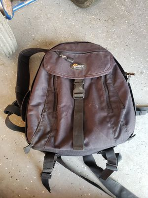 Lowepro backpack for Sale in Lake Elsinore, CA