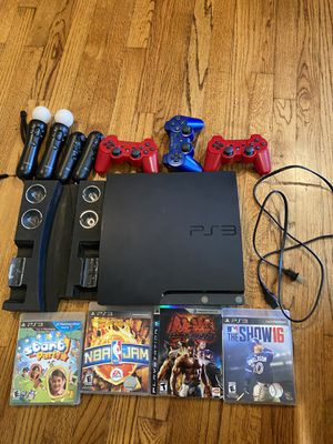 PS3! Everything in the picture included. for Sale in Lakewood, CA