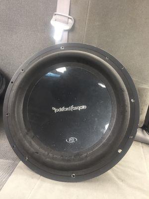 Rockford fosgate P3 12inch subwoofer for Sale in Detroit, MI