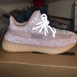 Yeezy boost 350 synth reflective shoes for Sale in Southwest Ranches, FL