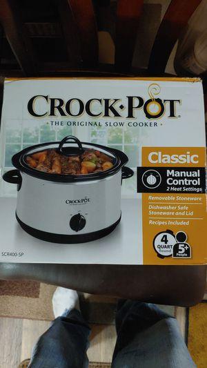 Slow cook crock pot 4 quarts for Sale in Fort Lauderdale, FL
