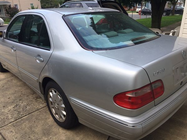 2000 Mercedes E320 4matic 114,000 miles