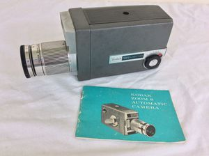 Vintage Kodak Zoom 8 Automatic Camera With Original Instructions for Sale in Severn, MD