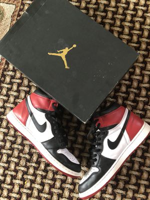 Jordan 1 Black Toe for Sale in Tujunga, CA