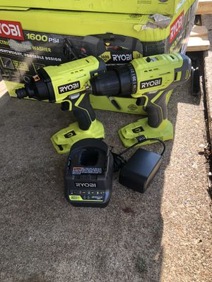 Ryobi 18v impact an drill for Sale in Irving, TX