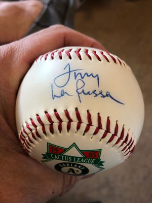Tony LaRusso St. Louis Cards Autographed Rawlings Baseball for Sale in Cypress, CA