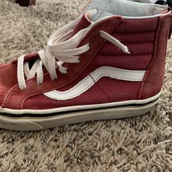 Red High top Vans for Sale in Albuquerque, NM