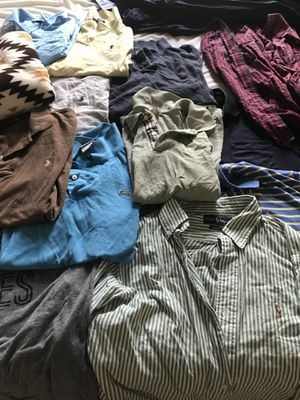 Bag of mens clothes - small/medium for Sale in Austin, TX