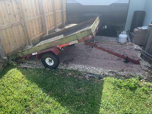 Tilt bed trailer for Sale in Boca Raton, FL