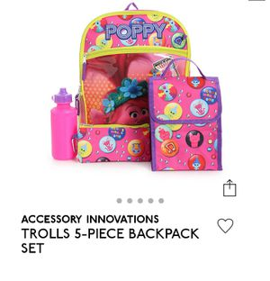 Trolls backpack for Sale in South Elgin, IL