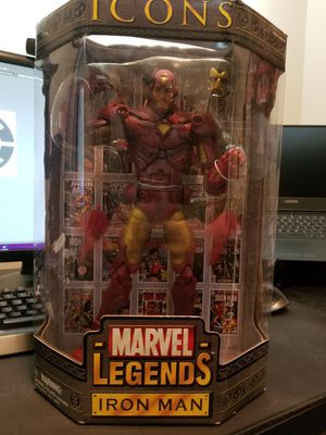 "Toy Biz 12"" Iron Man in box for Sale in Garner, NC"