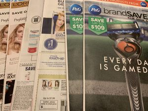 Coupon coupons inserts from Sunday papers for Sale in Pinole, CA