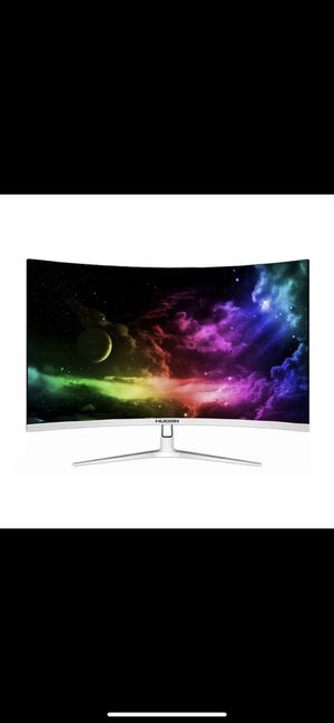HUGON 24 inch LED/LCD Curved screen monitor pc for Sale in New York, NY