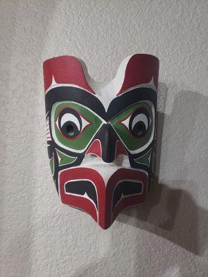 Native American Artist Tony Gudbranson Mask for Sale in Haslet, TX