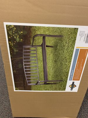 All Metal Park Bench for Sale in Williamsport, PA