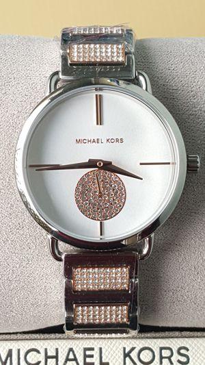 New Authentic Michael Kors Women's TwoTone Watch for Sale in Montebello, CA