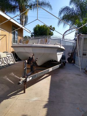 Boat and trailer for Sale in Pomona, CA