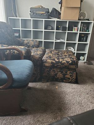 Rocking chair & Couch and Ottoman for Sale in University Place, WA
