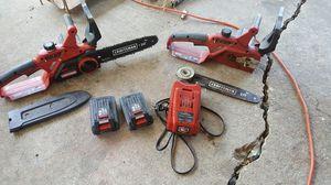 Craftsman 24v chainsaw for Sale in Pontotoc, OK