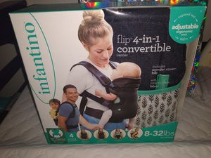 Infantino baby carrier brand new, bottle rack, breastmilk storage bags for Sale in Las Vegas, NV