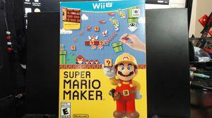 Super Mario Maker Bundle (Nintendo Wii U, WiiU) GAME COMPLETE w/ IDEA BOOK CASE for Sale in Lake Elsinore, CA