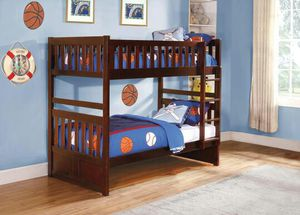 Rowe Cherry Twin/Twin Bunk Bed | B2013 for Sale in Austin, TX