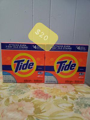 Detergente en polvo Tide for Sale in Lanham, MD
