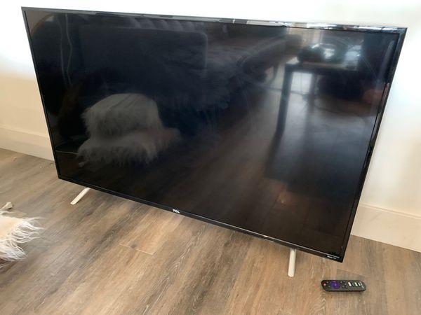 """50"""" ROKU - TCL smart TV"""