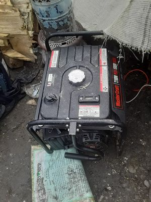 2200w Generator Mastercraft for Sale in French Camp, CA